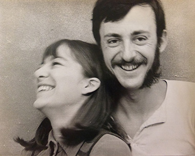 Sally & Richard in the 1970s